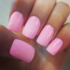 nails and pretty pink ones!