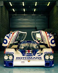 Porsche 962C at Spa Classic