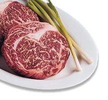 True Kobe Beef  raised from the black Tajima-ushi breed of Wagyu cattle