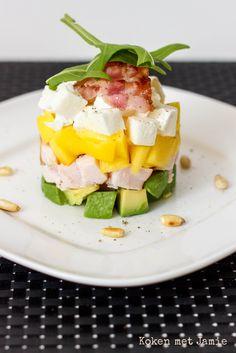Kip mango avocado torentje