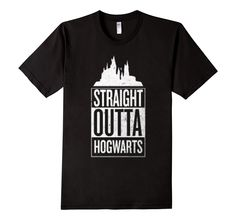 This is a pretty cool spin for a HP Shirt. Strait Outta Hogwarts Harry Potter Inspired Shirt
