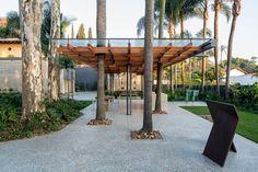 metro arquitetos sets art pavilion in sao paulo garden