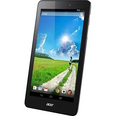ACER NT.L94AA.001. Product Type: Tablet| Operating System: Android 4.4 (KitKat)| Type: 8 IPS TFT - LED backlight| Resolution: 1280 x 800| Touchscreen: Multi-Touch| Features: Glare, CineCrystal, 10-point multi-touch| Processor: Intel Atom Z3735G| Processor Clock Speed: 1.83 GHz| Number of Cores: Quad-Core| 64-bit Computing: Yes| Storage: 32 GB eMMC| RAM: 1 GB - DDR3L SDRAM| Supported Flash Memory Cards: microSD, microSDHC| Wireless Connectivity: 802.11b/g/n, Bluetooth 4.0| Rear-facing…