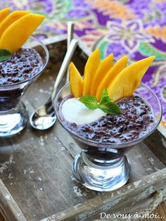De vous à moi...: Riz Noir au Lait de Coco (Black Rice Pudding)