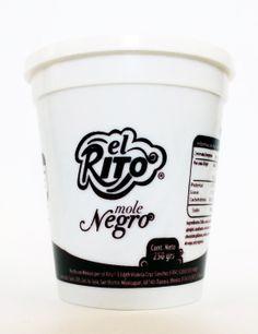 Packaging design. Food. El Rito Mole.