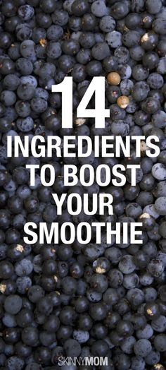 14 smoothie boosters!