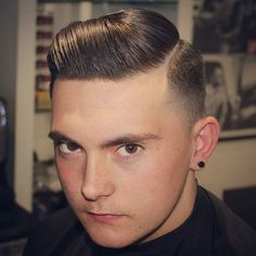 Hard Side Part with Low Fade