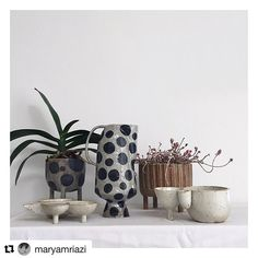 #Repost @maryamriazi (@get_repost) ・・・ You guys, on Monday the 21st, I'm going to start my first IG auction ever!! I'll be auctioning all these pieces one by one. The auction will be in support of @pipwilcoxceramics & @makers4refugees and all the money raised will be donated directly to @helprefugeesuk #maryamriazi