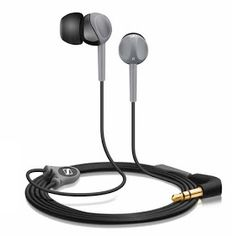 Sennheiser CX 180 Street II In-Ear Headphone (Black) Review, Details, Price and Demo Video with Pictures