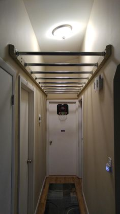Hallway monkey bars More