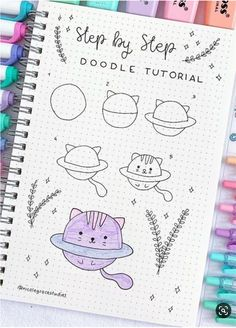 💜💜💜 Bullet Journal Banner, Bullet Journal Writing, Bullet Journal Aesthetic, Bullet Journal Ideas Pages, Bullet Journal Inspiration, Easy Doodles Drawings, Easy Doodle Art, Cute Easy Drawings, Simple Doodles
