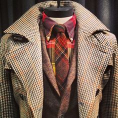 Plaids Layered to Perfection, by Brooks Brothers Fall. Men's Fall Winter Fashion.
