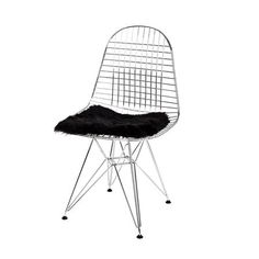 The Organic Sheep Company from Iceland -  Shorthair Sheepskin Chair Pad, Black, $ 35 !!