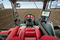 Known for quiet, spacious, comfortable cabs, Case IH kicked it up a notch with the new Magnum lineup. New options include a new ventilated seat with an ...