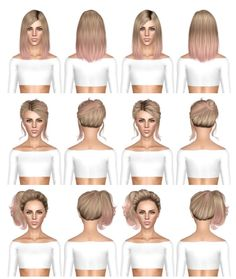 Alesso Circus, Skysims 53, Skysims 56 hairstyles retextured by July Kapo for Sims 3 - Sims Hairs - http://simshairs.com/alesso-circus-skysims-53-skysims-56-hairstyles-retextured-by-july-kapo/