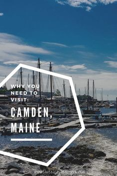 Did you know that Camden Maine is known as the jewel of the Maine Coast Well it is Find out more and why you need to visit at Canada Travel, Travel Usa, Camden Maine, Portland Maine, East Coast Canada, New England Usa, Harbor Park, Ogunquit Maine, Saint George Island