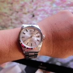 Just in a Rolex Tudor 7017 king size 38mm automatic Day Date watch | Pre-owned watches AND i