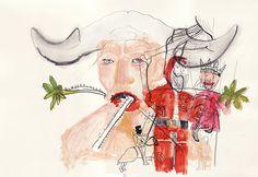 Todas ilustrações foram feitos pela artista Mari Coan: http://www.flickr.com/photos/mari_coan/