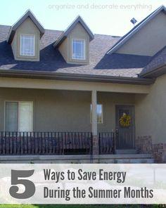 5 Ways to Save Energ