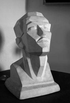 grisalla-arte-pintura-tecnica-mixta-noticias-totenart Anatomy Sketches, Anatomy Drawing, Anatomy Art, Sculpture Head, Plaster Sculpture, Painting Process, Painting & Drawing, Anatomy Sculpture, Face Anatomy