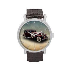 Duesenberg (Duesy) Model J Classic Car Wristwatches