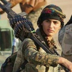 The Kurdish Lion-YPJ-Rojava-Kurdistan-freedom fighter