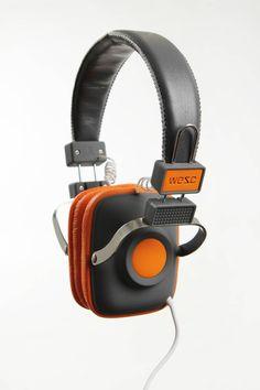 maraca headphones dark shadow / WESC
