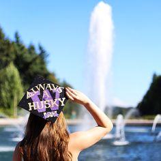 University of Washington undergrad graduation cap. Next stop: UW Law.
