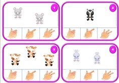 Les cartes à pincer de Lila