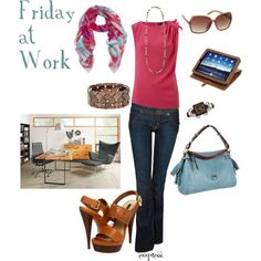 Friday at Work outfit, created by exxpress on Polyvore