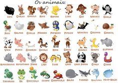 Qual é o teu animal favorito? Aprende o nome dos animais em português.