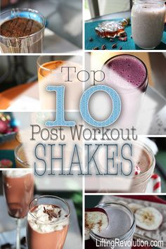 Top 10 post workout shakes