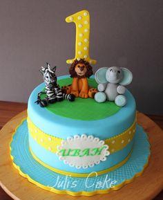 Raes Animals Birthday Cake Animal birthday Cakes and By
