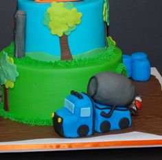 Construction Theme Birthday Cake by cjmjcrlm (Rebecca), via Flickr