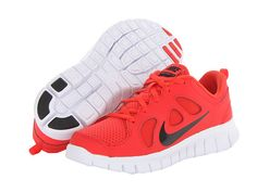 best loved 1d824 47e3e Nike kids free run 5 0 little kid light crimson gym red black