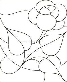 or a stained glass quilt Stained Glass Quilt, Stained Glass Flowers, Faux Stained Glass, Stained Glass Designs, Stained Glass Projects, Stained Glass Patterns, Mosaic Patterns, Mosaic Art, Mosaic Glass