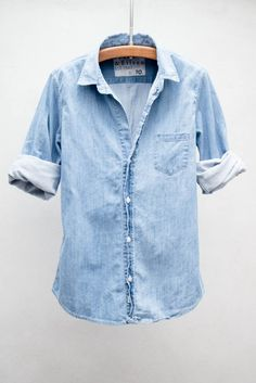 Frank & Eileen Indigo 70's Barry Shirt