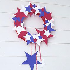 Easy 4th of July crafts   Make a wreath in minutes   AllYou.com