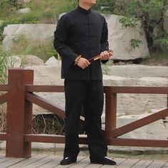 Men chinese kung fu martial arts suit tai chi top #trousers #pants #shirt jacket,  View more on the LINK: 	http://www.zeppy.io/product/gb/2/351525177857/
