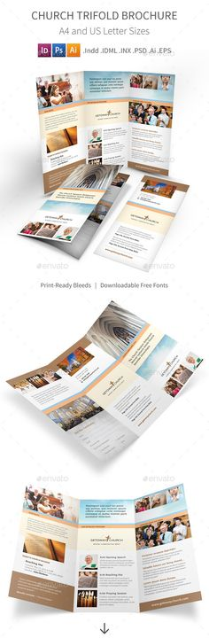 bible church brochure template design church marketing pinterest brochure template. Black Bedroom Furniture Sets. Home Design Ideas