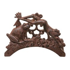 Decorative cast iron hosepipe holder with frog design Frog Food, Frog Design, Frog Art, Classic Garden, Flower Frog, Garden Accessories, Yard Art, Frogs, French Country
