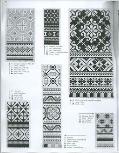 latvian etno mittens