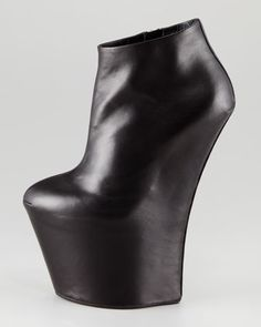 Guiseppe Zanotti's Super Wedge No-Heel Ankle Boot