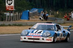 14 Guy Chasseuil and Michel Leclere Ligier JS2 Maserati at Le Mans 16 June 1974