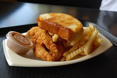 Chicken Fingers, Fries, & Texas Toast @ Raising Canes in New...