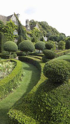 Abbey House Gardens Malmesbury Wiltshire England