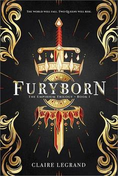 Cover Reveal: Furyborn by Claire Legrand - On sale May 22, 2018! #CoverReveal