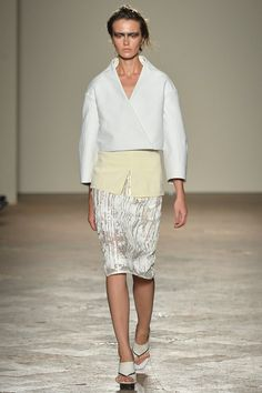 Gabriele Colangelo - Spring/Summer 2014 Ready-To-Wear - MFW (Vogue.co.uk)