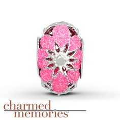 Charmed Memories Neon Cathedral Charm Sterling Silver