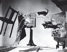 Dalí Atomicus by Philippe Halsman 1948